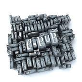 Epub — Stock Photo