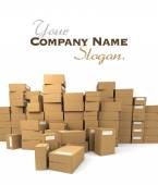 Heap of packages 2 — Stock Photo