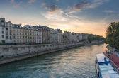 Paris from the Seine — Stock Photo