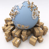 International shipment — Stock Photo