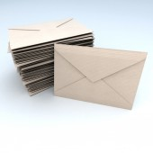 Stack of mail — Stock Photo