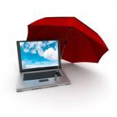 Protezione del computer — Foto Stock