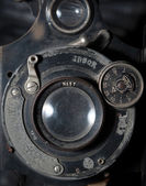 Detail on a vintage camera  — Stock Photo