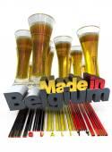 Belgian beer — Stock Photo