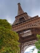 Eiffel tower scenes d — Stock Photo