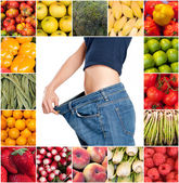 Healthy sliming diet  — Stock Photo