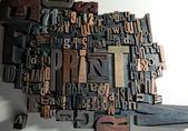 Imprimer en bois — Photo
