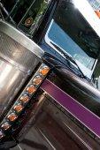 Close-up shot on large truck — Stock Photo