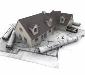 家の計画 — ストック写真