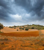 Storm in southern Europe — Stock Photo