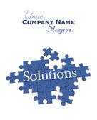 Solutions puzzle  — Zdjęcie stockowe
