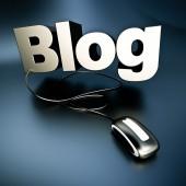 Silver online Blog — Stockfoto