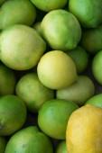 Green lemons — Stock Photo