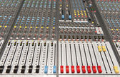 Industria de la música — Foto de Stock