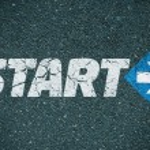 Start point words — Stock Photo #66266703