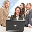 Girls work team — Stock Photo #66267961