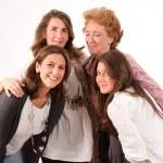 Four women isolated — Stock Photo #66269565