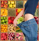 Healthy sliming diet b — Stock Photo