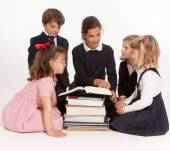 Kids lesson — Stock Photo