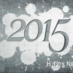 Happy New Year 2015 on facade — Stock Photo #66272947