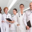 Serious medical team — Stock Photo #66276447