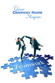Teamwork concepts — Stock Photo