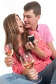 Young engagement — Stock Photo