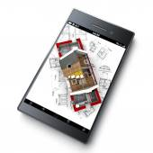 House insulation app — Stock Photo