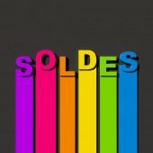 Sales in French — Stockfoto