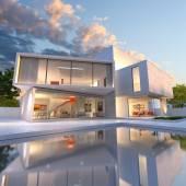 House cube deconstruction — Stock Photo
