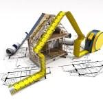House under construction — Stock Photo #71078949