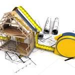 House under construction — Stock Photo #71078983