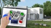 Building remote control — Stock Photo