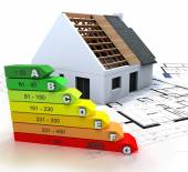 Energy efficient construction — Stock Photo
