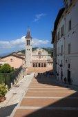Cathedral of Santa Maria Assunta - Spoleto — 图库照片