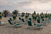 Beach of San Benedetto del Tronto — Stock Photo