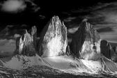 Three peaks of Lavaredo — Stock Photo