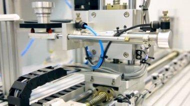 Robotic warehouse model — Stock Video