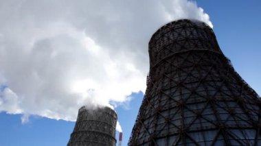 ηλεκτροπαραγωγής με καύση άνθρακα — Αρχείο Βίντεο