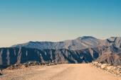 Man Running on Mountain Path — Stock Photo