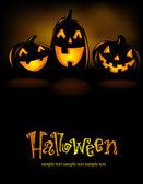 Illustration de l'halloween — Vecteur