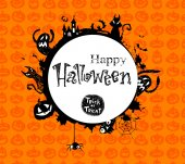 Halloween  frame. — Stock Vector