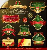 Christmas vector frames — Stock Vector