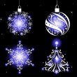 Christmas ornaments. — Stock Vector #58082331