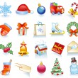 Set of Christmas symbols. — Stock Vector #58363071