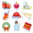 Set of Christmas symbols. — Stock Vector #58366621