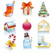 Set of Christmas symbols. — Stock Vector #58366937