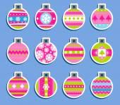 Christmas tags. — Wektor stockowy