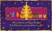 Cute Christmas tree — Wektor stockowy