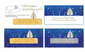 Christmas greeting card set — Vector de stock